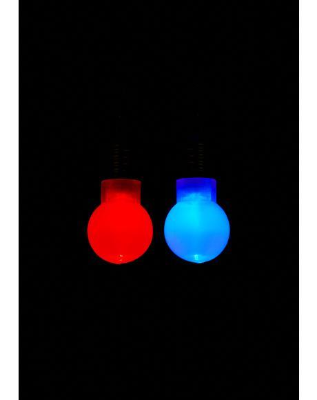Merry Memories Light-Up Earrings