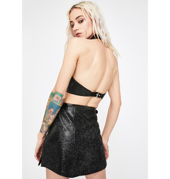 HOROSCOPEZ Insidious Obsession Mini Skirt