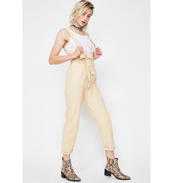 Serve Looks Suspender Jeans