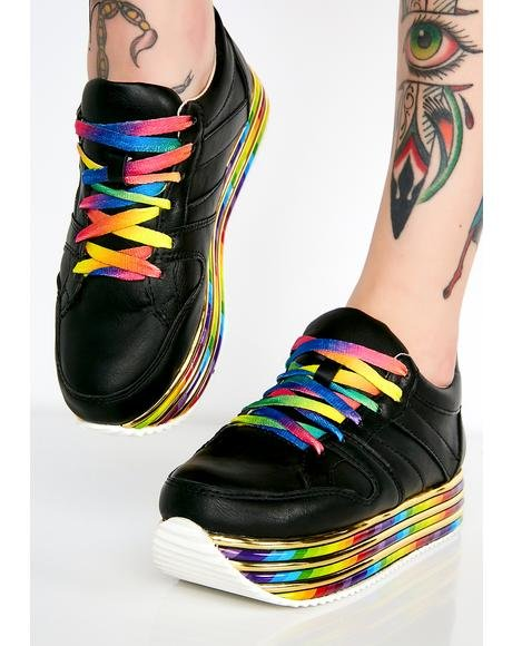 Sugar Zaddy Platform Sneakers