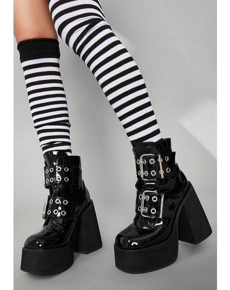 Vile Phantom Riot Platform Boots