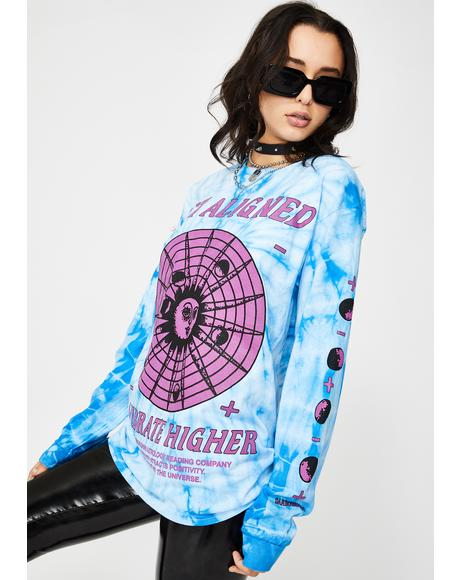 Vibrate Higher Long Sleeve Tee