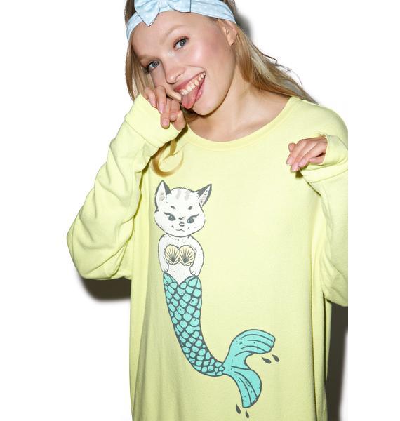 Wildfox Couture Merkitten Road Trip Sweater