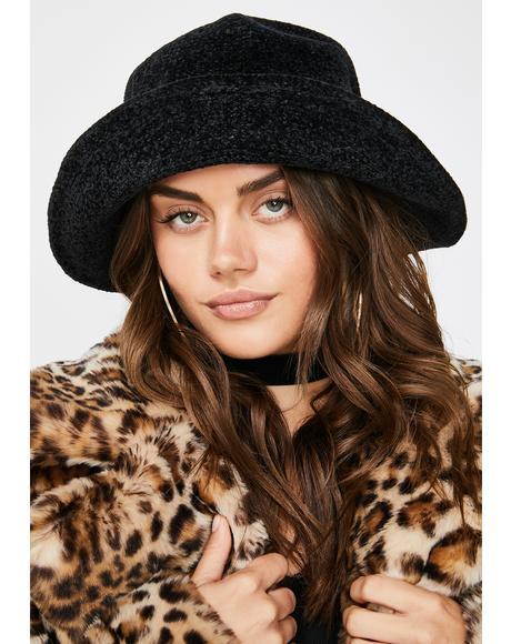 Midnight Daze Off Knit Bucket Hat