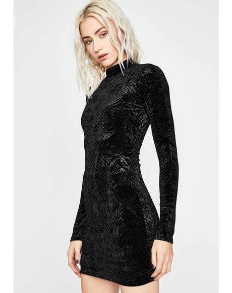 Reign Of Love Velvet Dress