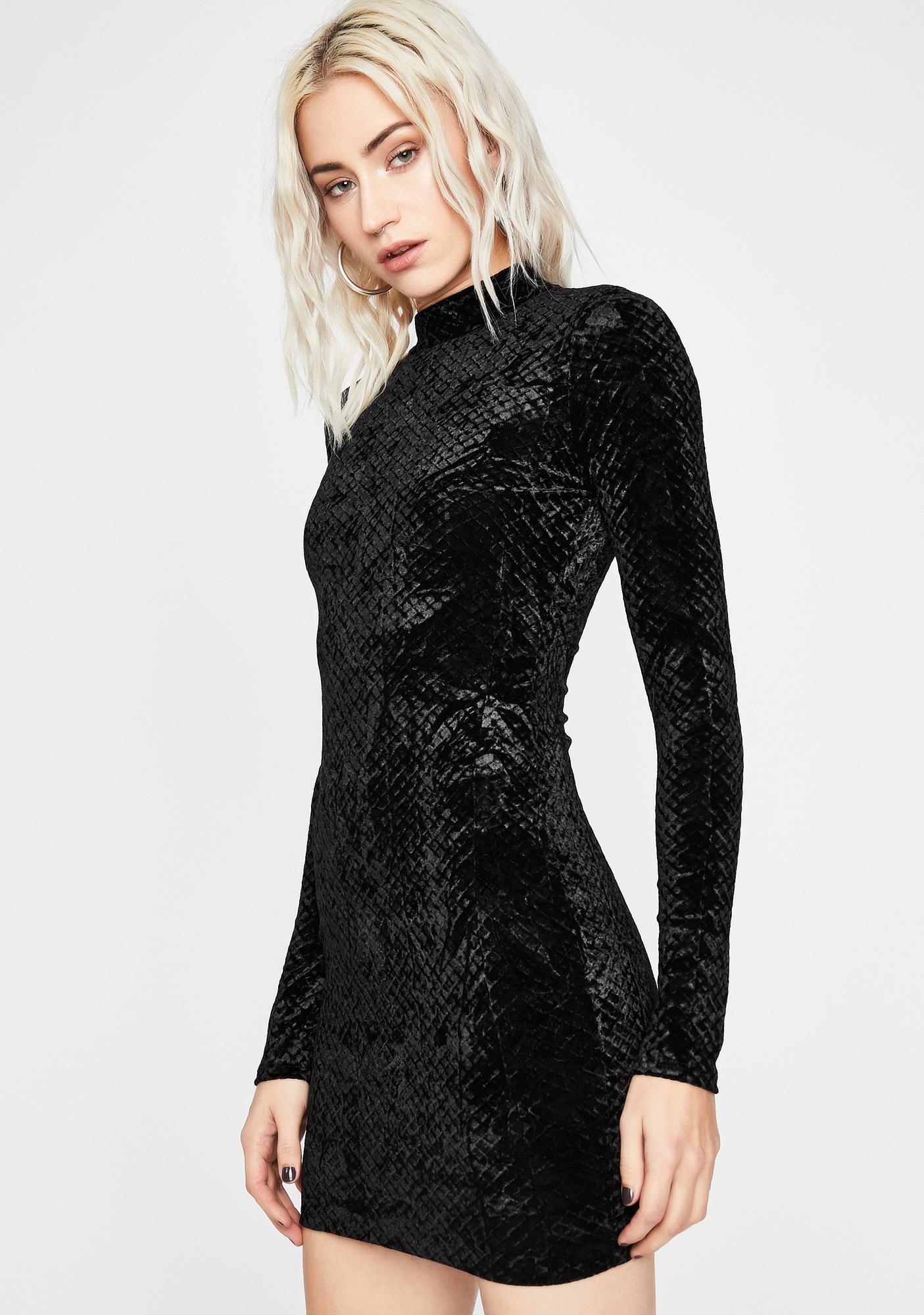 Reign Of Love Velvet Dress