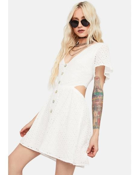 Too Down Button Up Dress