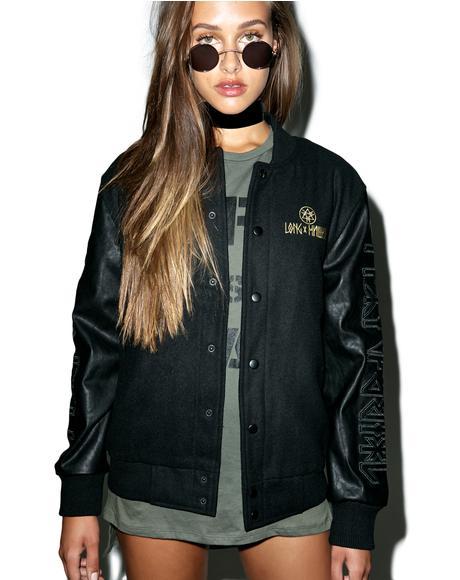 Mishka 2.0 Death Adder Chain Varsity Jacket