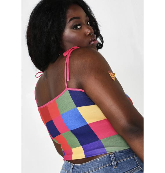 Current Mood Mod Tunnel Vision Colorblock Tank