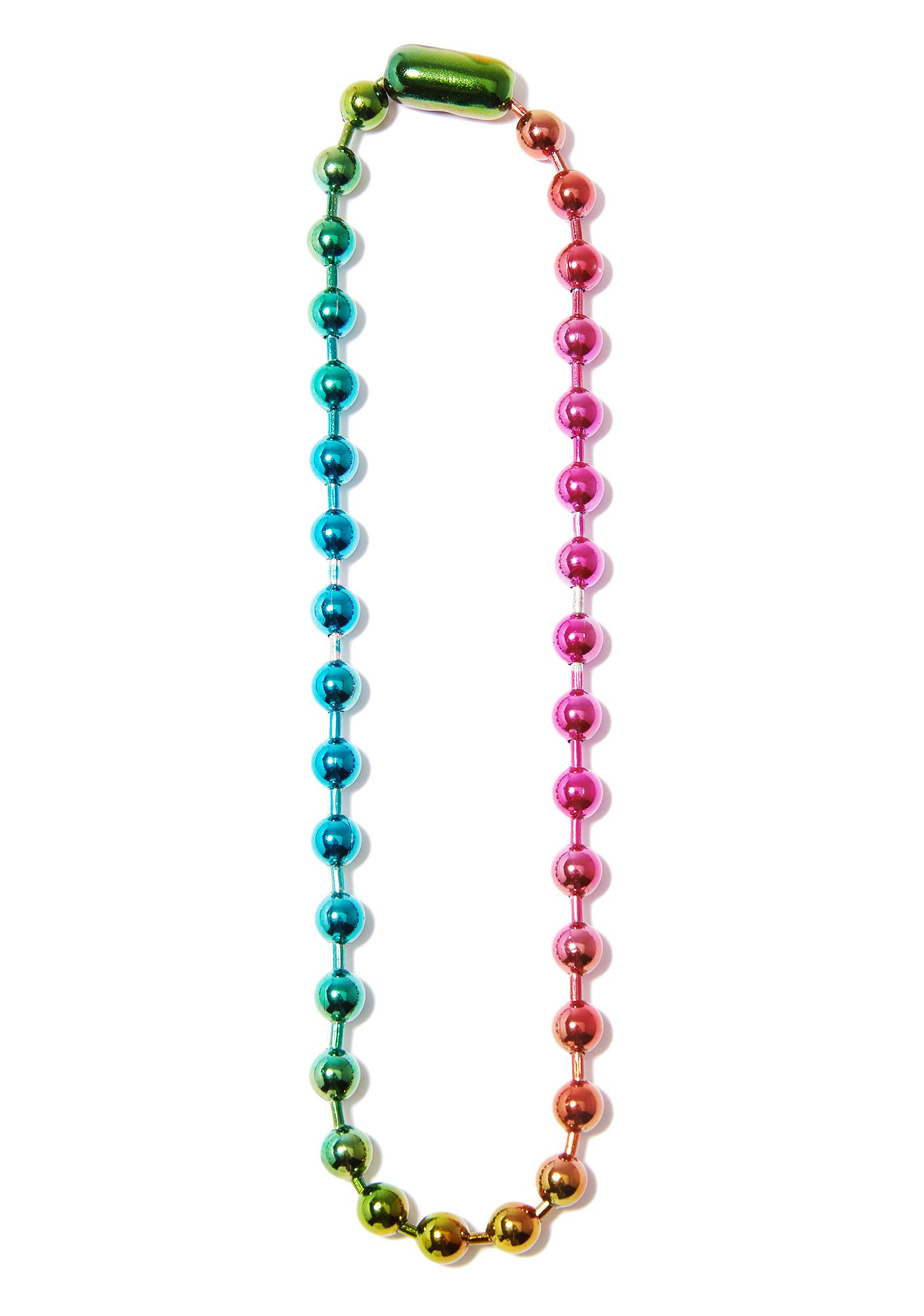 Fat Tuesday Ball Necklace