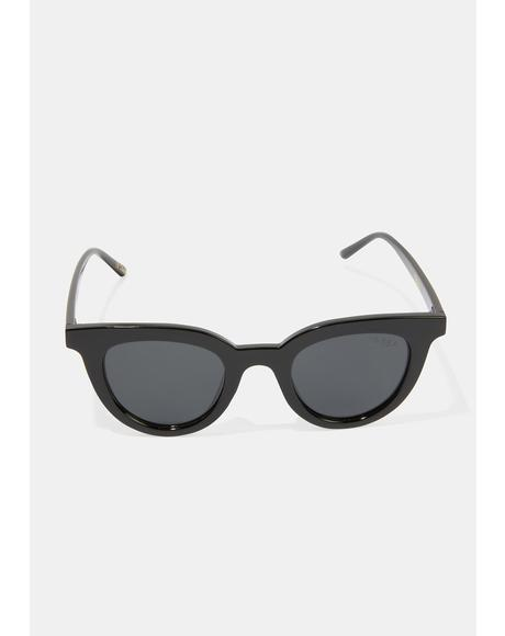 Canyon Black Smoke Sunglasses