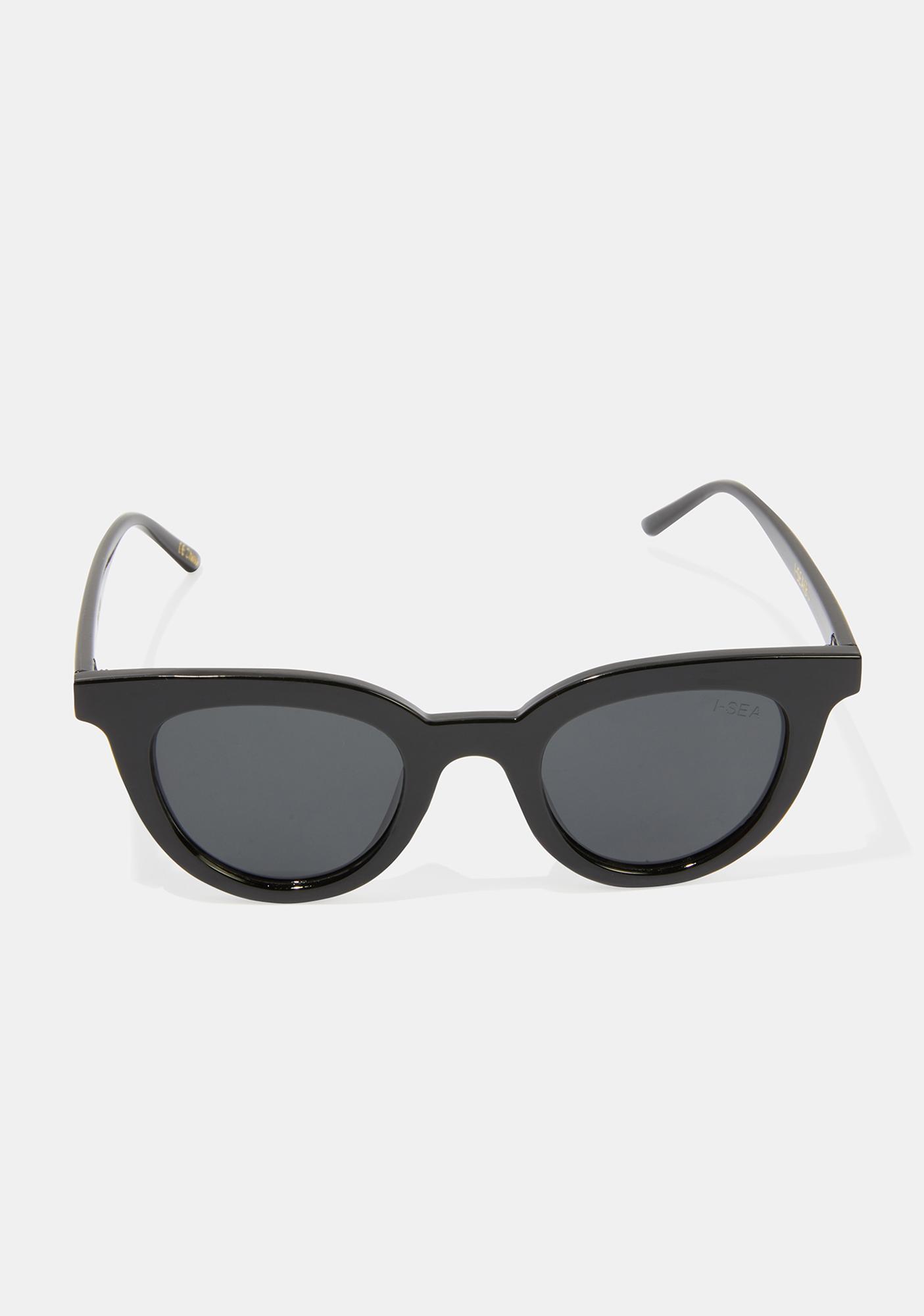 I-SEA Canyon Black Smoke Sunglasses