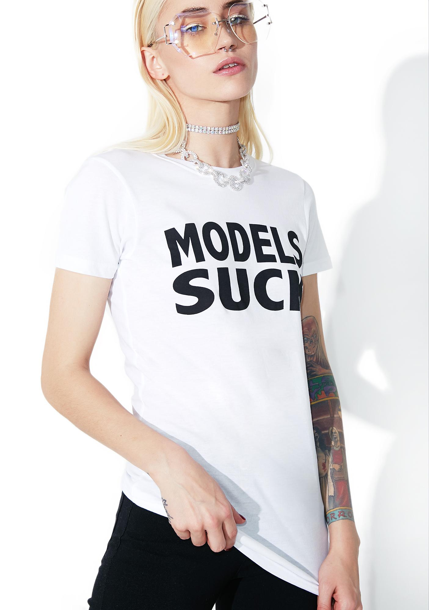 Current Mood Models Suck Tee