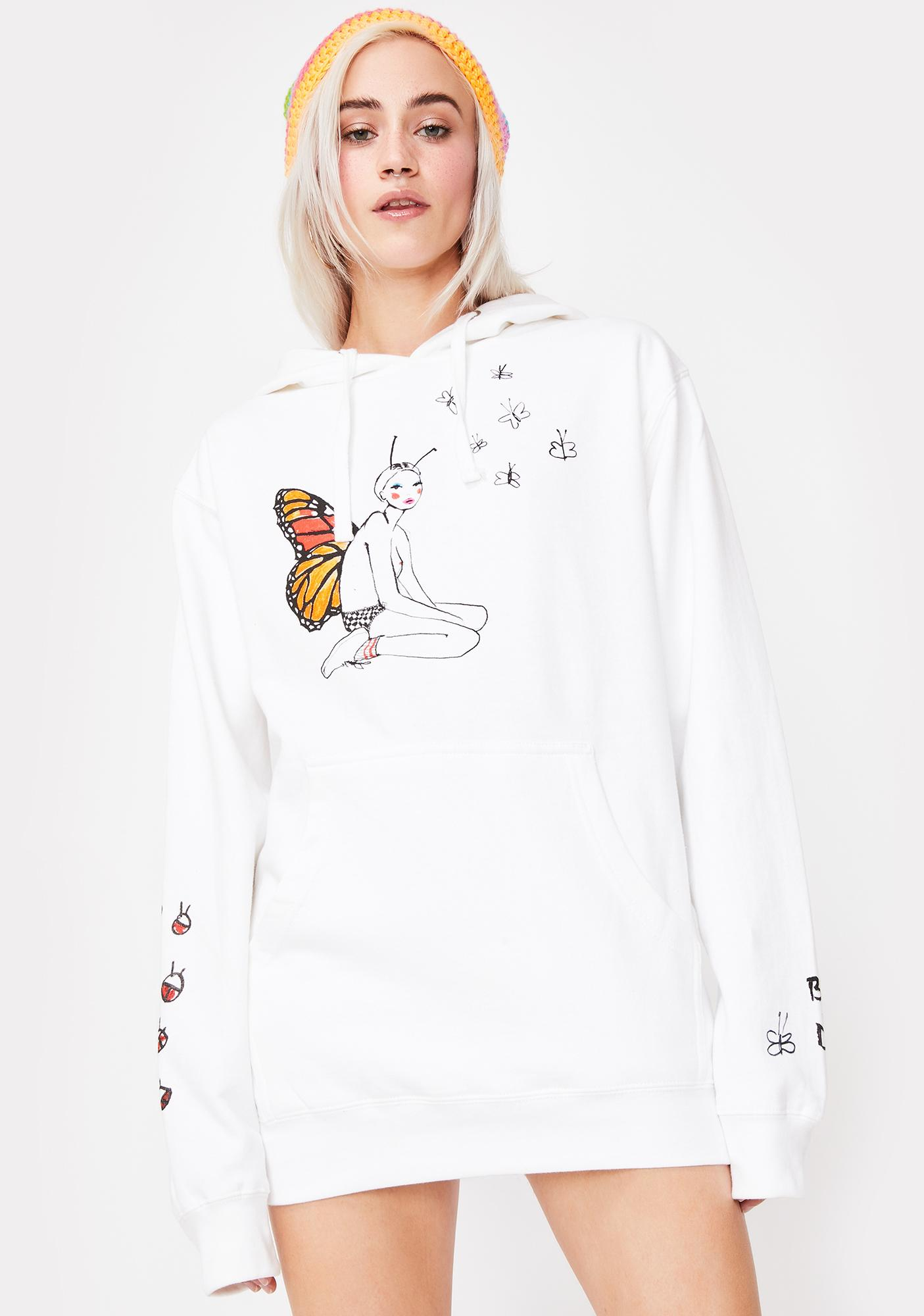 By Samii Ryan X Dessie Jackson Monarch Graphic Hoodie