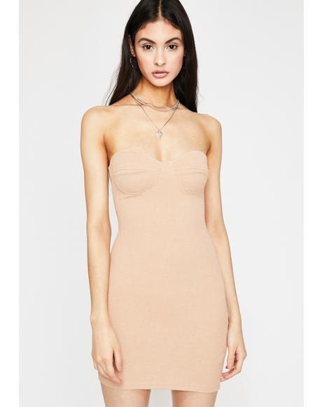 Fame Over Fortune Bodycon Dress