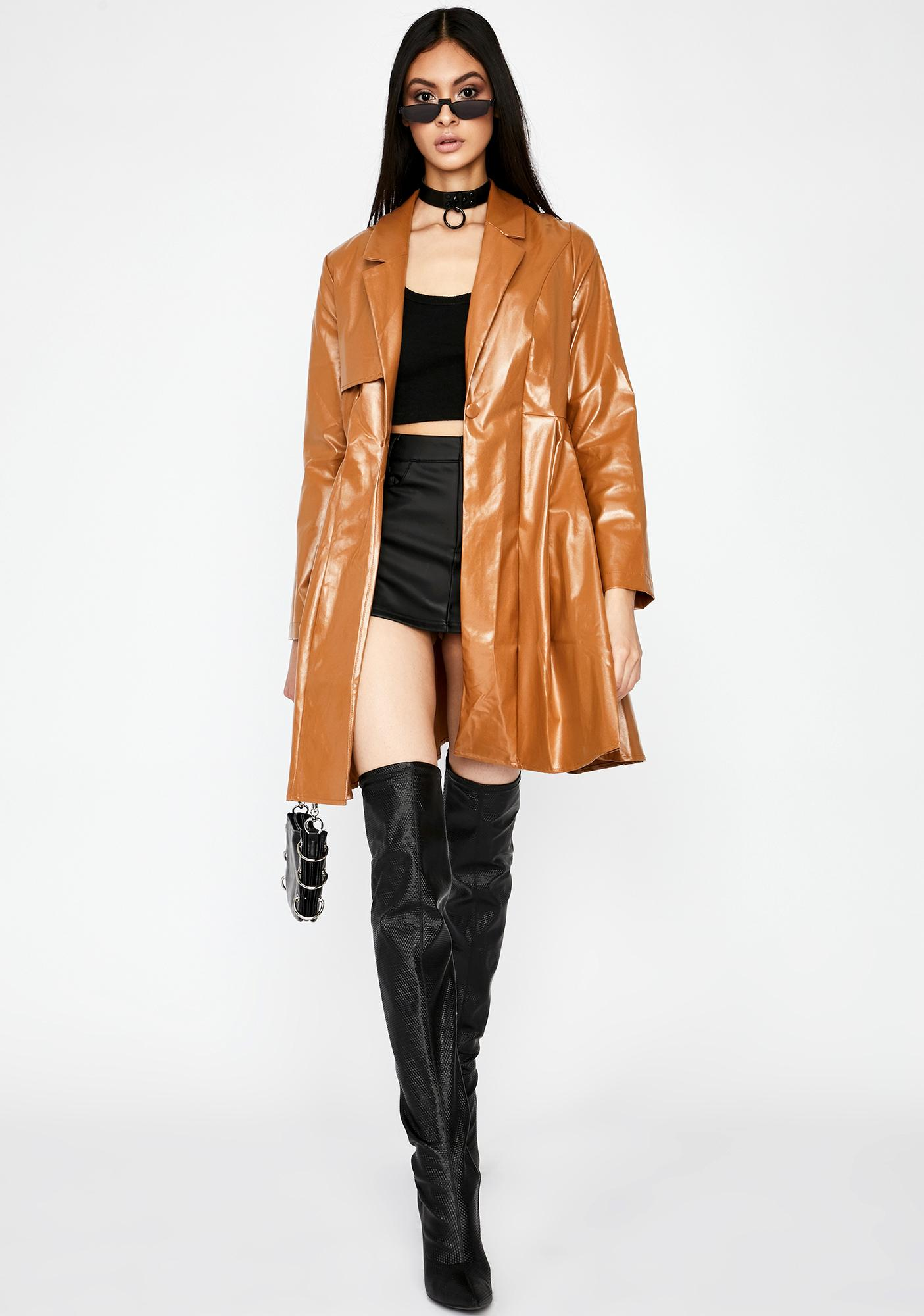 Fifth Avenue Fever Trench Coat