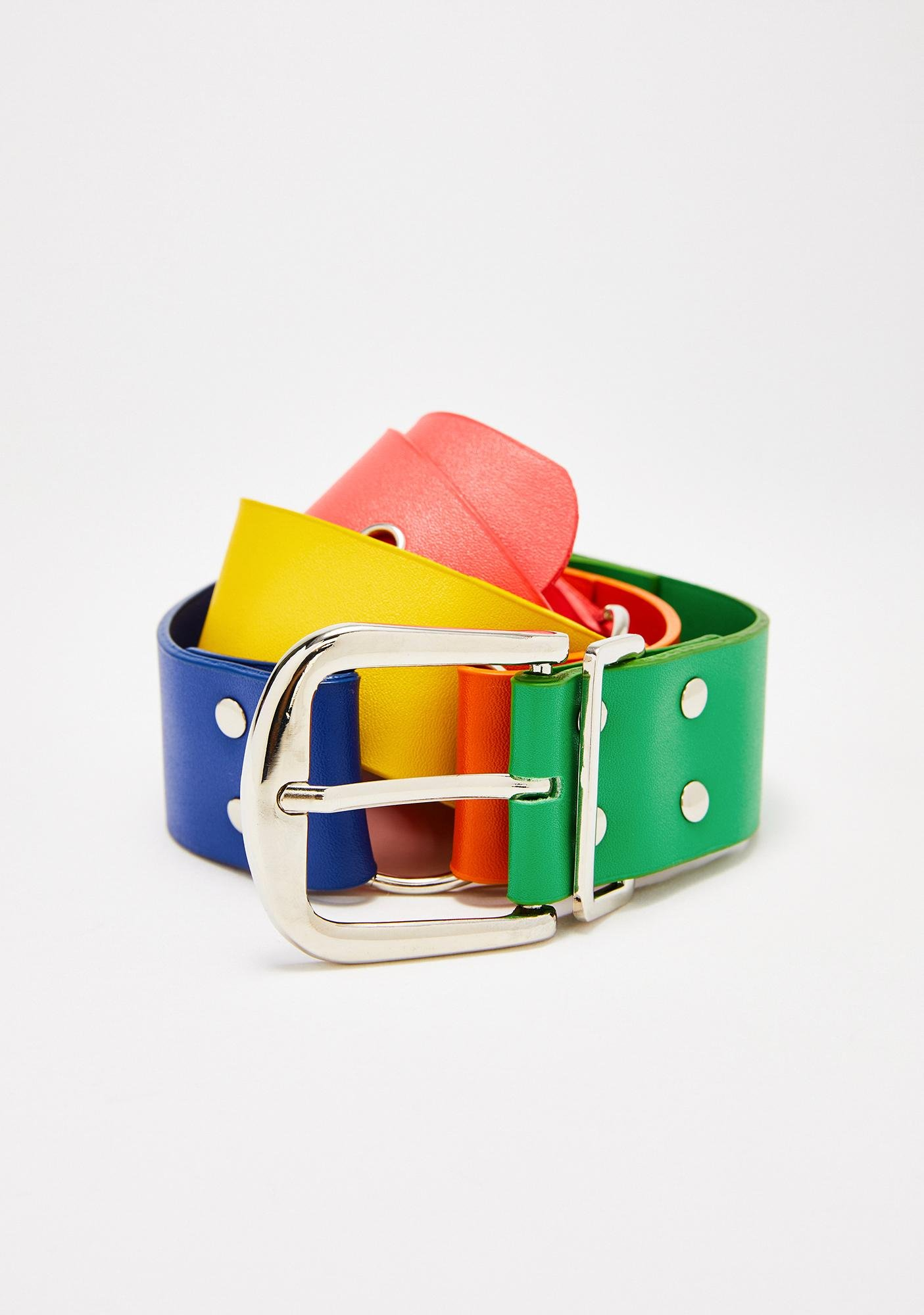 Candy Melt Rainbow Belt