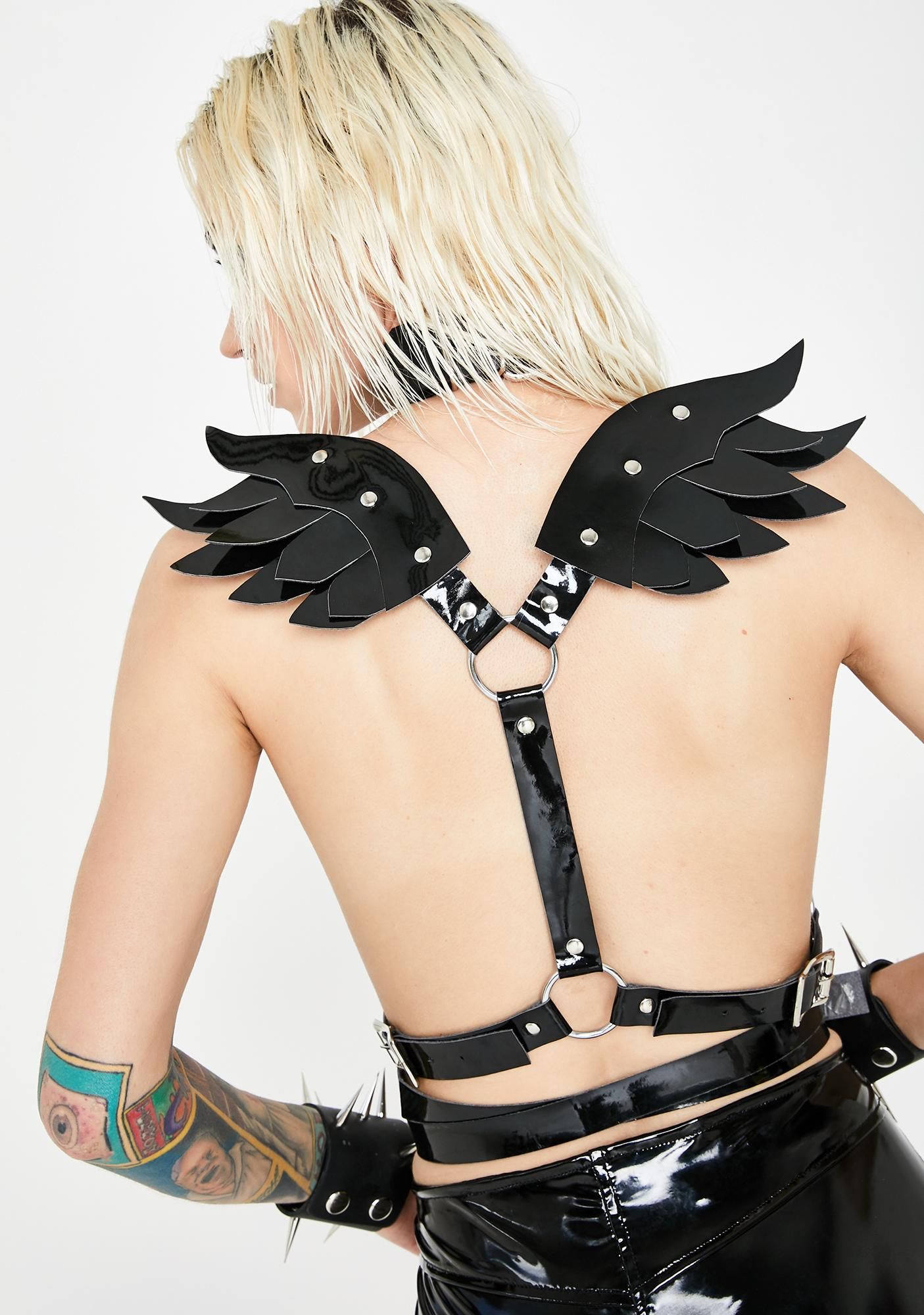 Daisy Corsets Angel Wing Harness