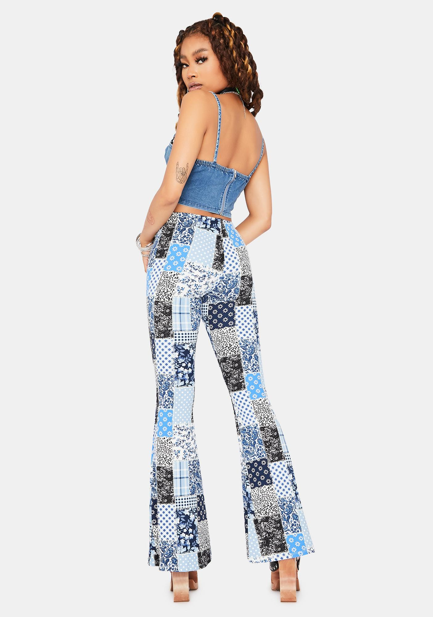 Patchwork Push Flares