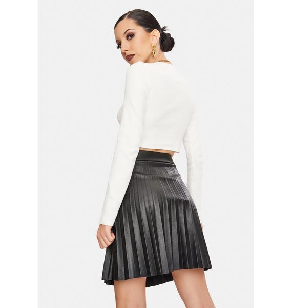 BB Dakota Private School Pleated Skirt