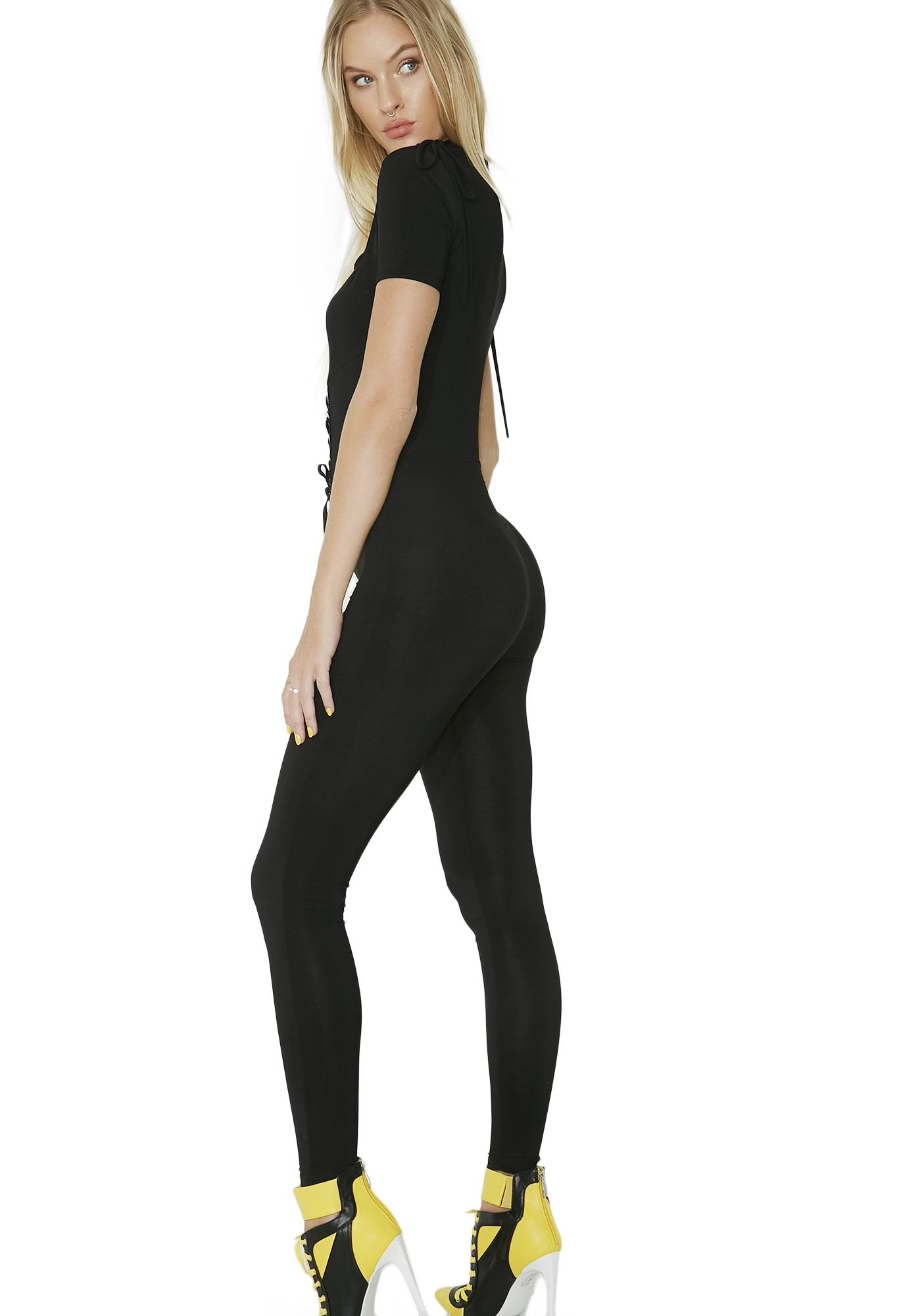 Miss Mayhem Corset Bodysuit