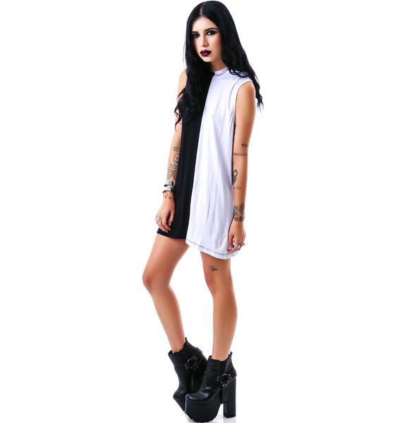Killstar Duality Hood Dress