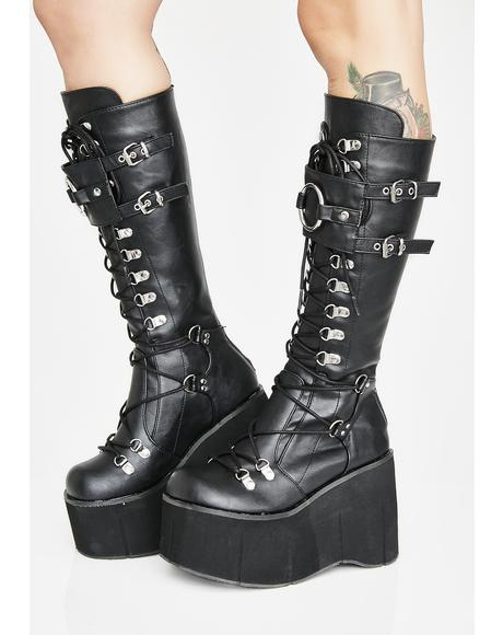 Riot Zone O-Ring Platform Boots