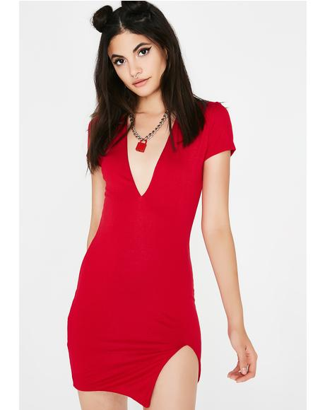 Spicy Arm Candy Mini Dress