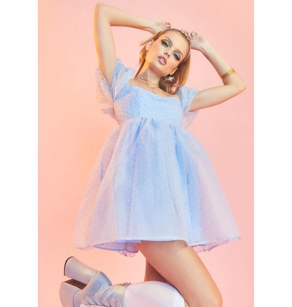 Sugar Thrillz Complicated Courtship Babydoll Dress