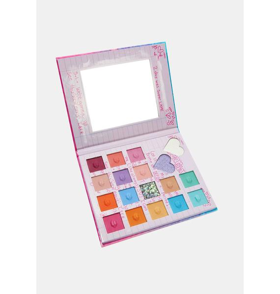 Spoiled Lips Cosmetics Dear Diary Eyeshadow Palette
