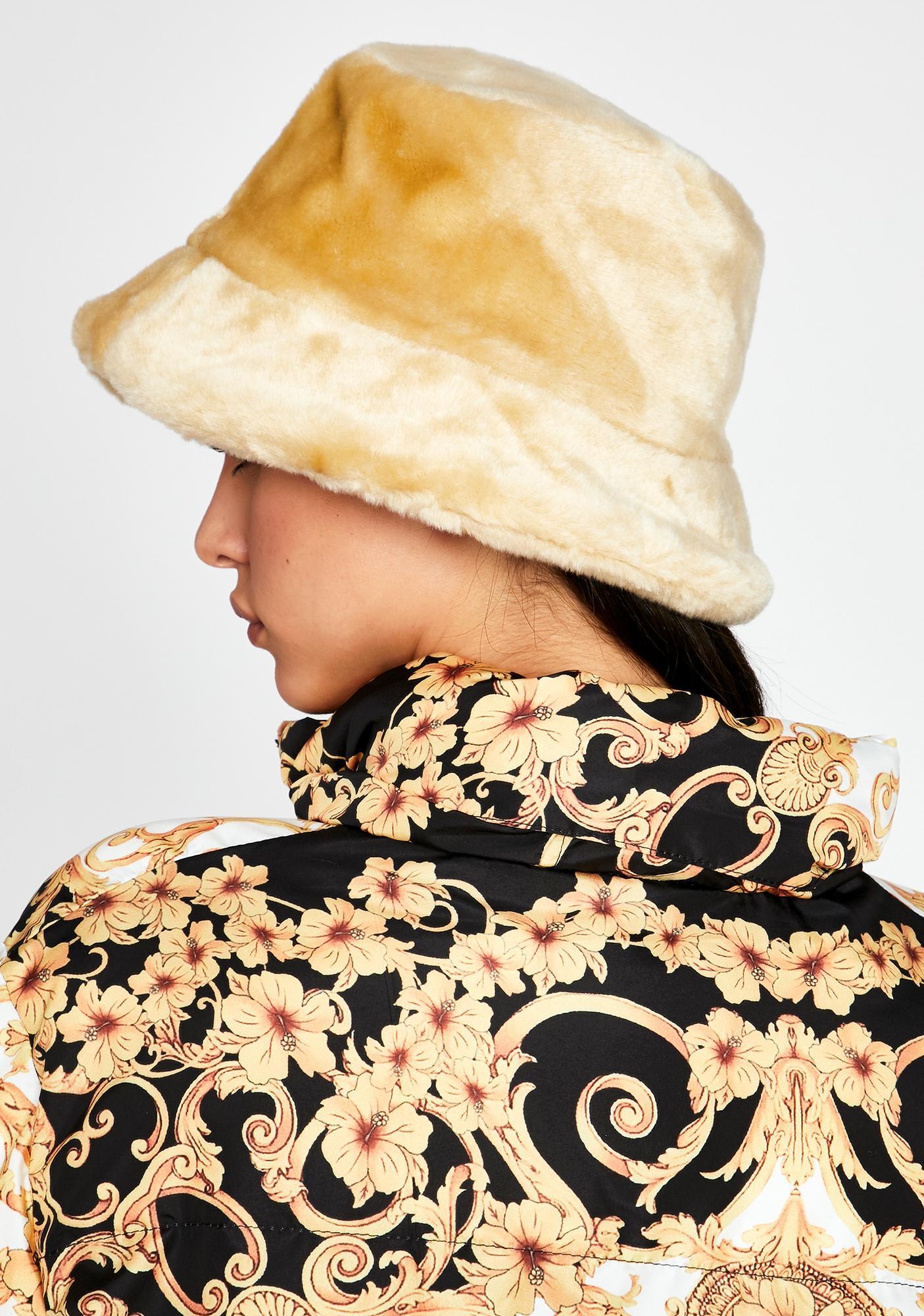 Powder Plush Bucket Hat