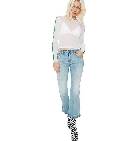 EVIDNT Cropped Jeans