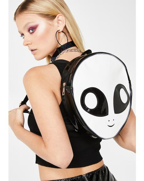 Martian Bae Alien Backpack