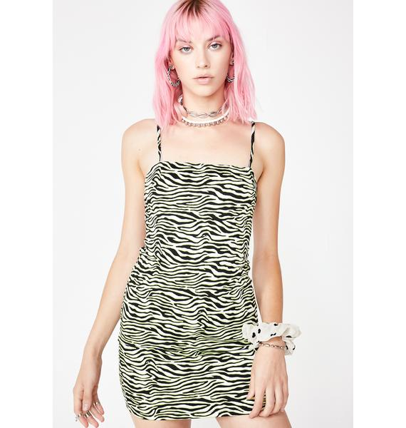 Motel Cinelle Zebra Dress