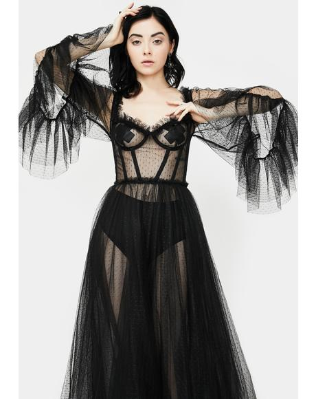 Haunting Beloved Tulle Dress