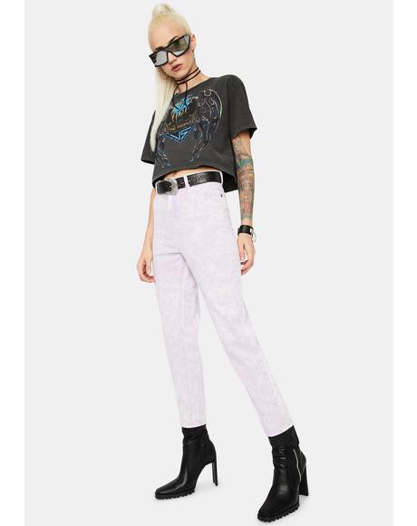 Lilac Outta Limits Denim Mom Jeans