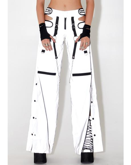 Reflective Breakaway Cargo Pants