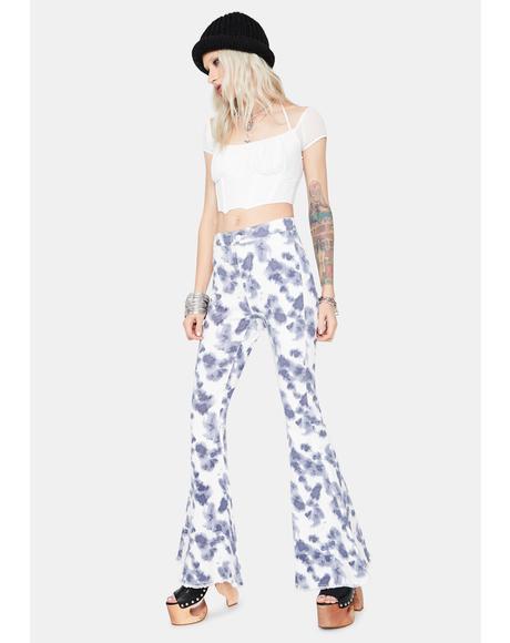 Hippie Heaven Tie Dye Flares