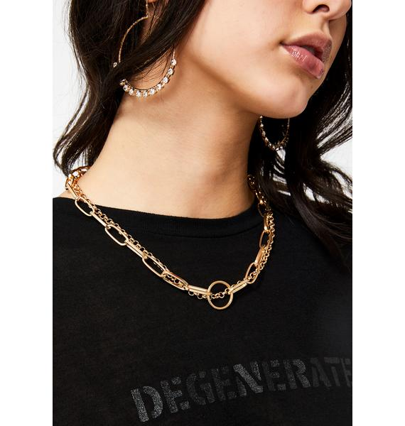 Pricey Passions Layered Necklace
