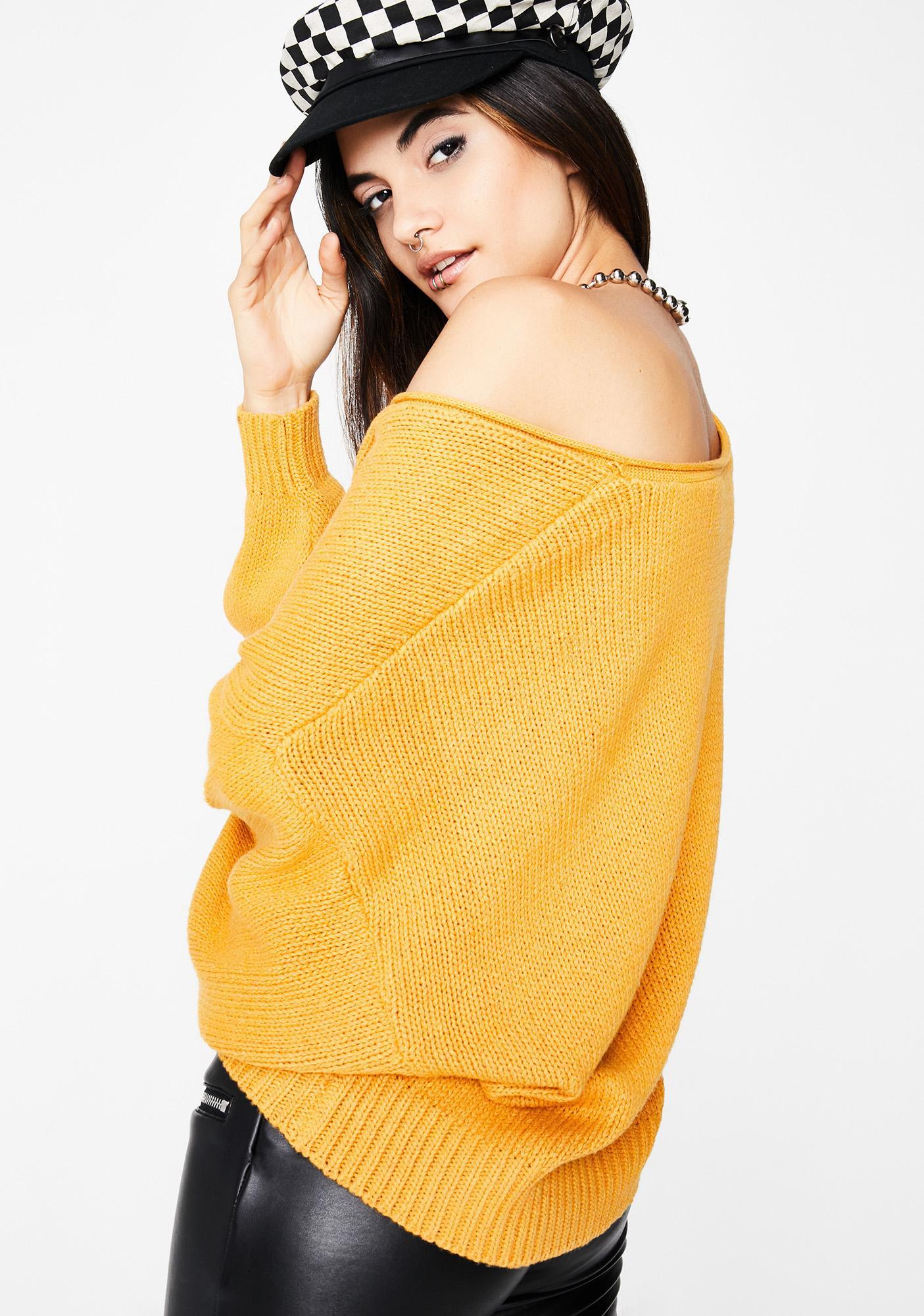 Take A Pause Sweater