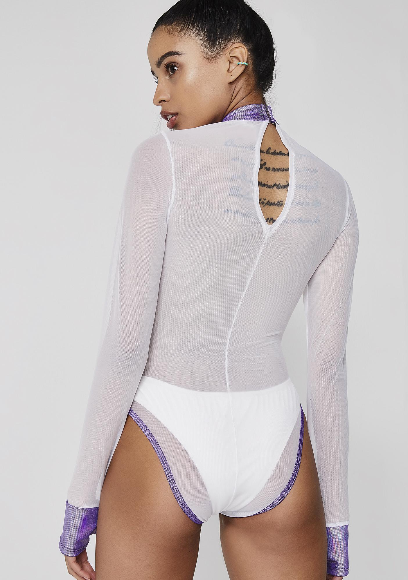 Pure Intergalactic Sass Sheer Bodysuit