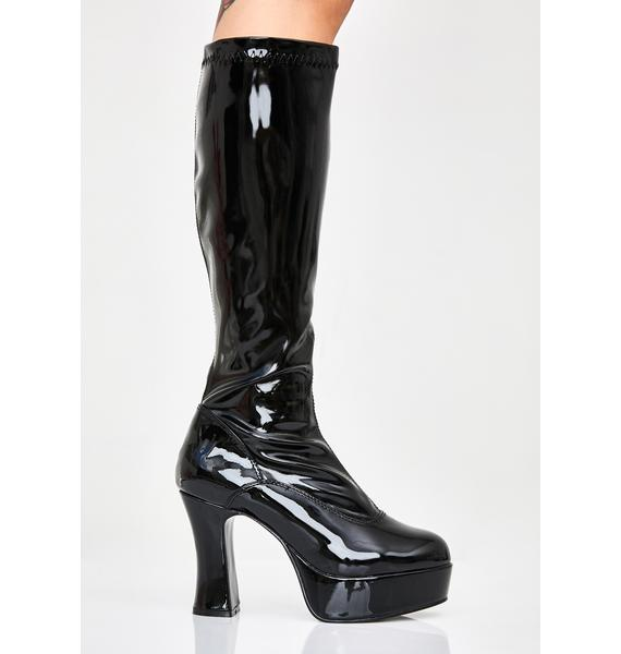 Funtasma She's Scary Sexxxy Patent Boots