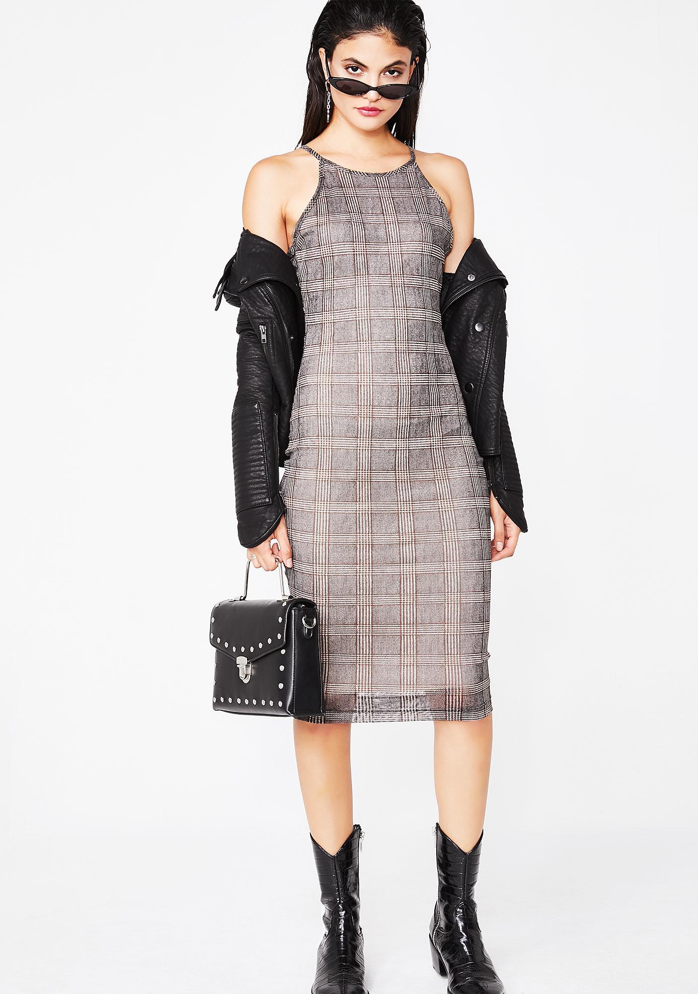 Teach Em A Lesson Midi Dress
