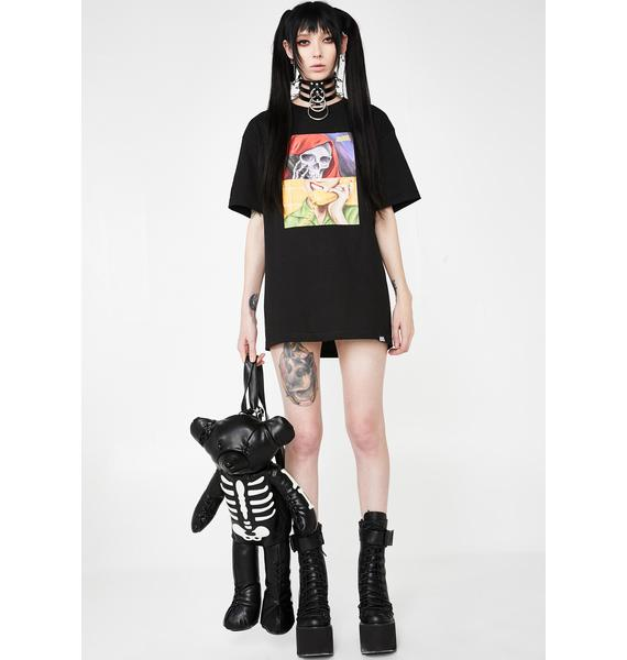BROKEN PROMISES CO On Call Graphic Tee