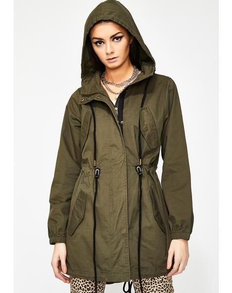 Lush Outer Limits Canvas Anorak