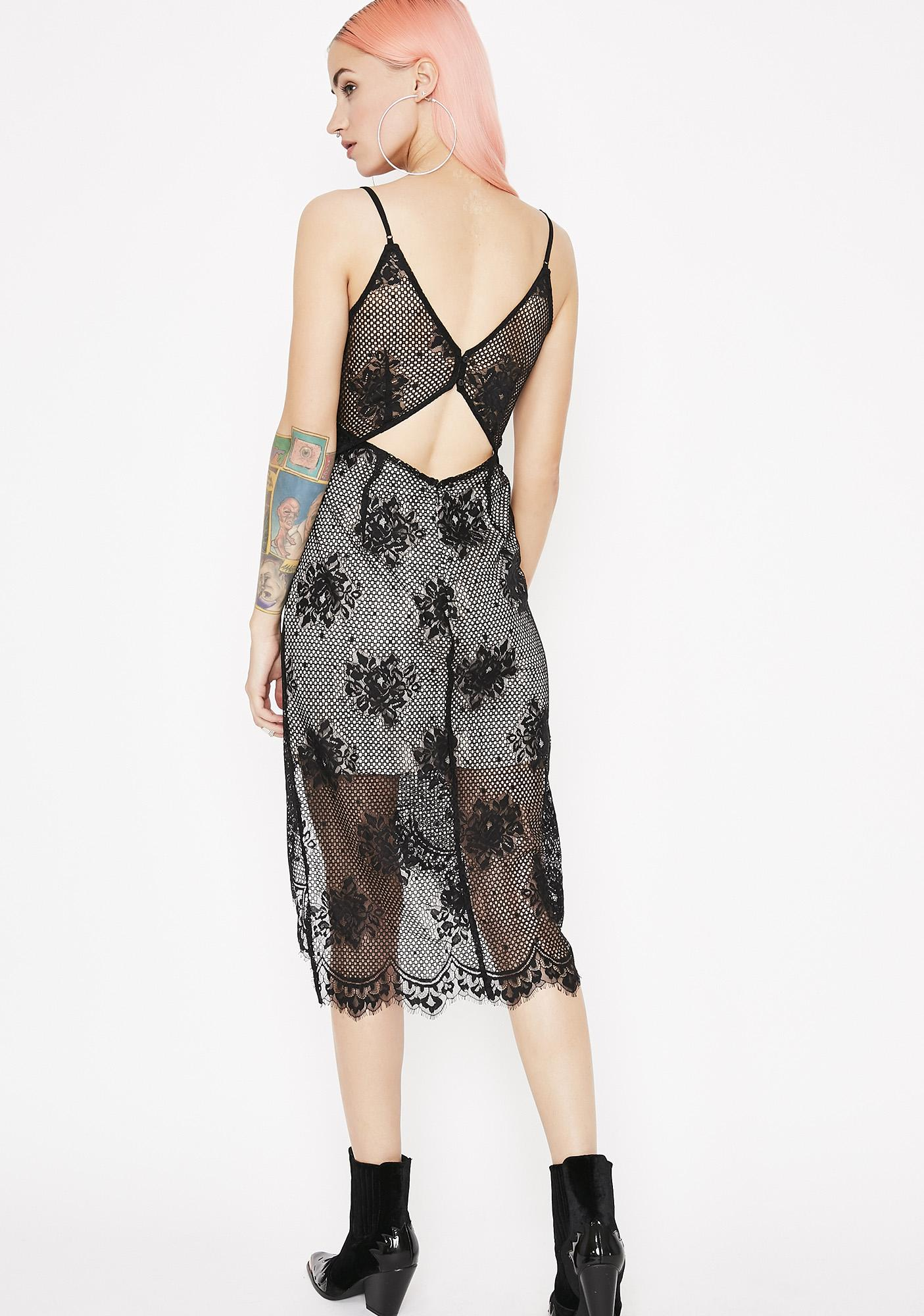 Take A Glance Lace Dress