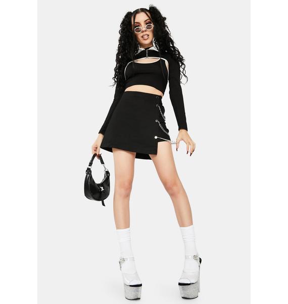 ZEMETA City Chain Skirt