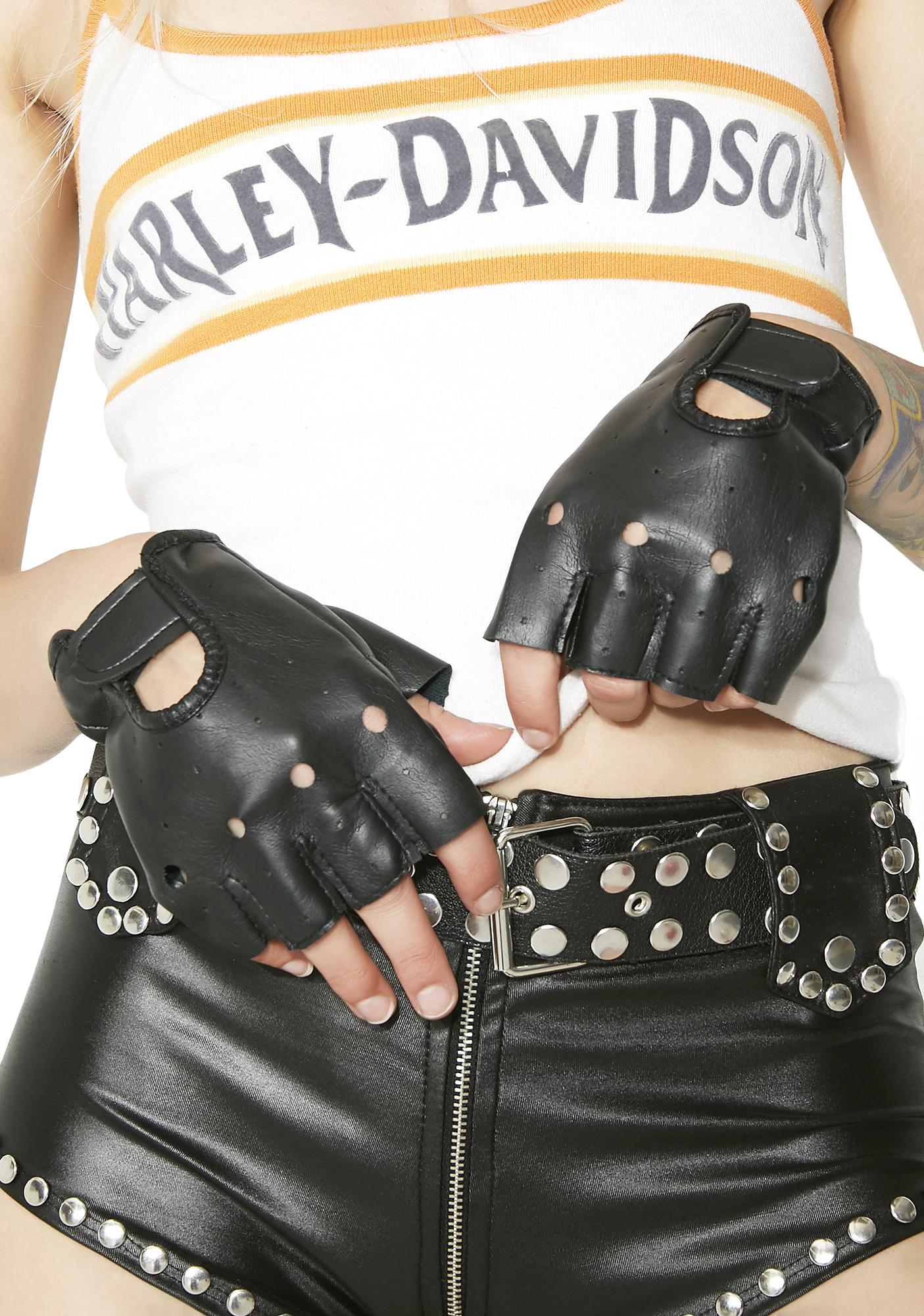 Get A Grip Fingerless Moto Gloves