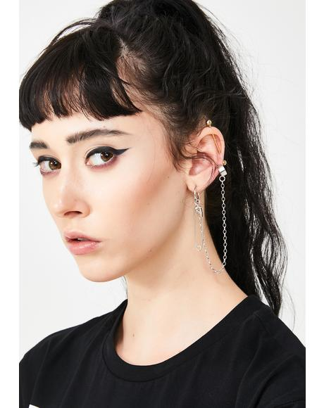 Pinned Down Ear Cuffs