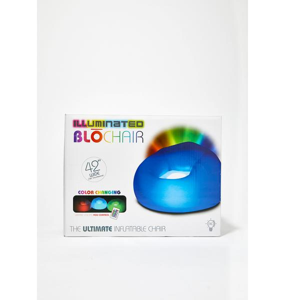 Glowin Letz Bounce Inflatable Chair